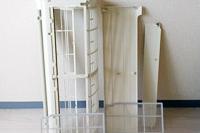取り外したカバー・フィルターの洗浄にベランダ、または浴室をお借りします。