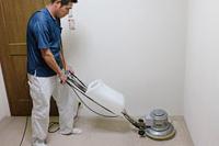 洗剤の塗布